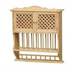 Platero lattice with rods 2-door