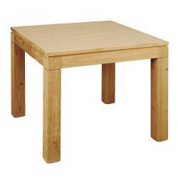 Table salle à manger moderne fixe p. carré lisse