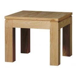 Fixed modern corner table