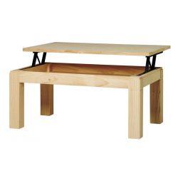 Tavolo moderno sollevabile del centro