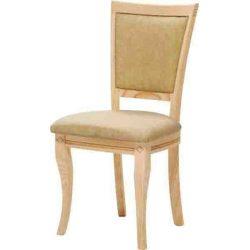 Silla Alejandría respaldo redondo y asiento pretapizado