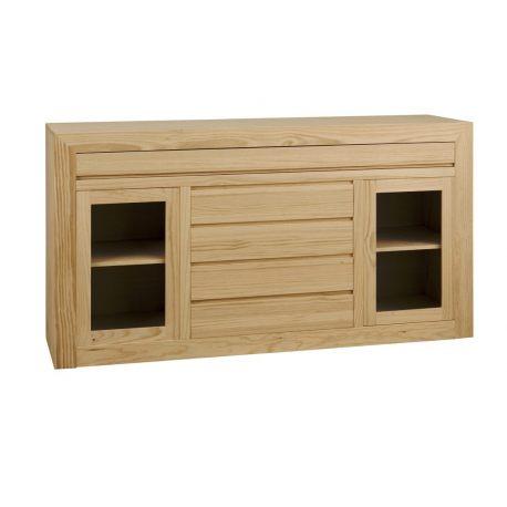 Athens sideboard 2 door 5 drawers