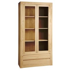 Showcase Athens high 2 doors 2 drawers