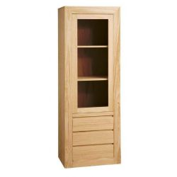 Showcase Athens 1 door 3 drawer