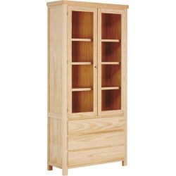 Showcase high Nerea 2 doors 3 drawers