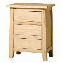 Table Rustika 3 drawers