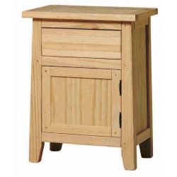 Table Rustika door and drawer