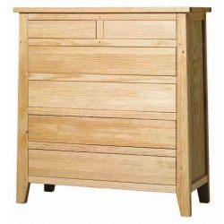 Comfortable Rustika 6 drawers