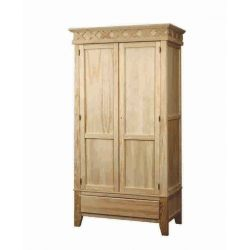 Wardrobe Rustika 2 doors 1 drawer
