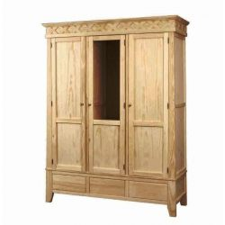 Wardrobe Rustika 3 p. 3 c. and interior chest of drawers