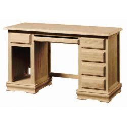 Table study 1 chest of drawers and hollow PC socket tray