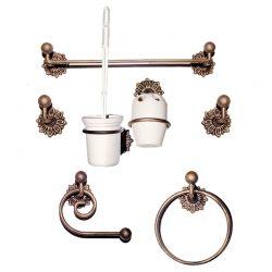 Bathroom rosette set