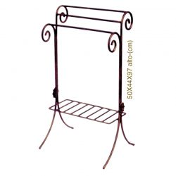 Towel Bar double spiral