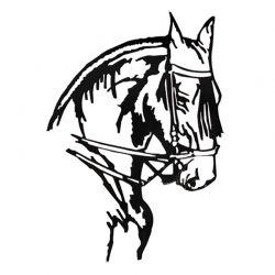 Scultura di cavallo