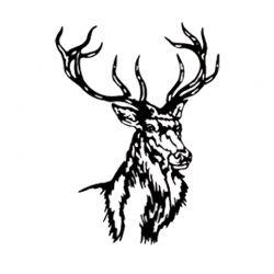 Scultura di cervo