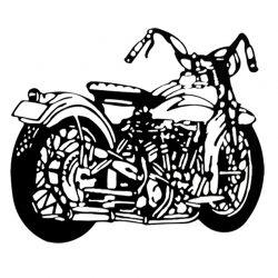 Escultura Harley 1
