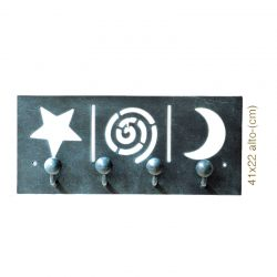 Hanger stars and moon