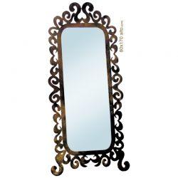 Espejo vestidor caracol