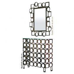 Cerchio console e specchio