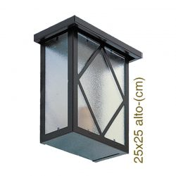 Wall lantern diamond
