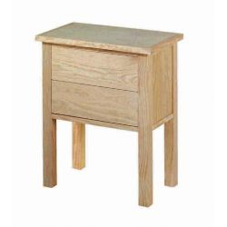 Bedside table Lorca 2 drawers
