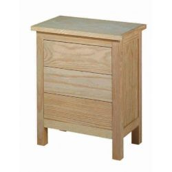Bedside table Lorca 3 drawers