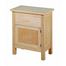 Bedside table Lorca 1 door 1 drawer