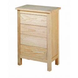 Bedside table Lorca 4 drawers