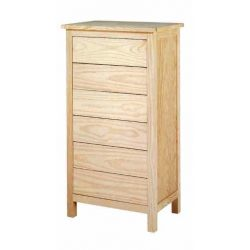 Drawer chest Lorca 6 drawers 60 cm.