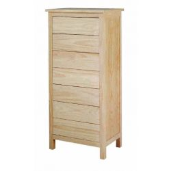 Drawer chest Lorca 7 drawers 60 cm.