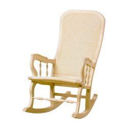 Mecedora rejilla asiento y respaldo