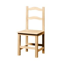 2 celchas chaise en bois assise