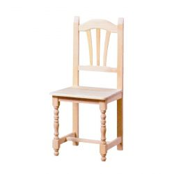 Turning Palm chair seat wood
