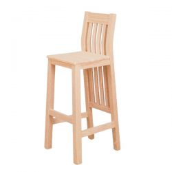 Athens stool seat wood