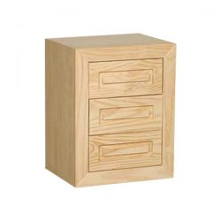 Table Ares 3-drawer handle Ares