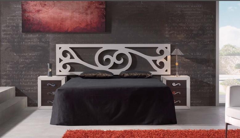 Chambre à coucher avec une touche de modernité